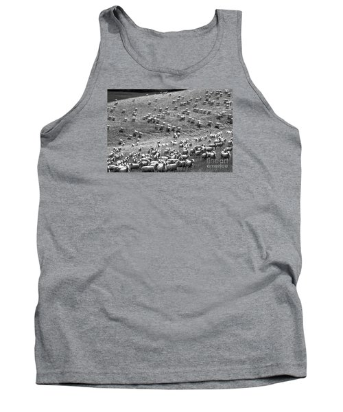 Tank Top featuring the photograph Moving Hillside by Nareeta Martin