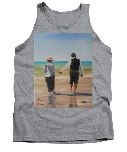 Mr. Carson And Mrs. Hughes Tank Top by Bev Conover