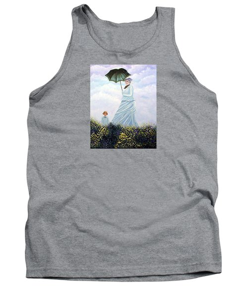 Mrs. Monet And Son Tank Top
