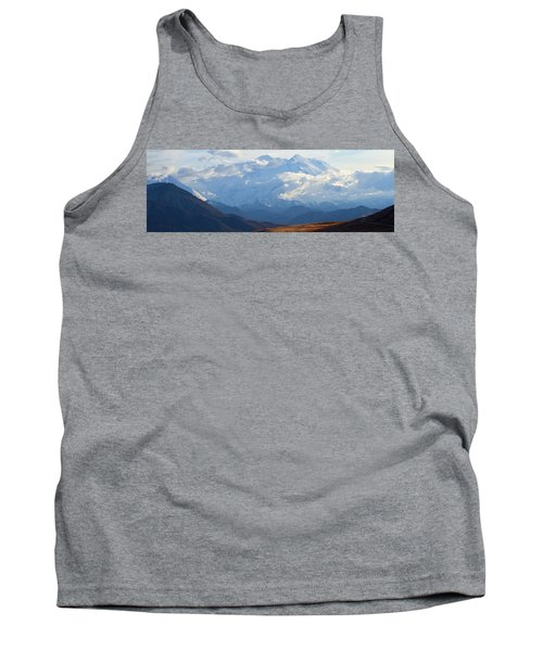 Tank Top featuring the photograph Mt. Denali by Ann Lauwers
