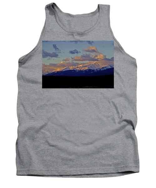 Mt Elbert Sunrise Tank Top by Jeremy Rhoades