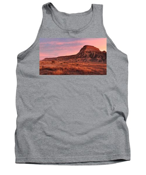 Tank Top featuring the photograph Mt Garfield Sunrise by Ronda Kimbrow