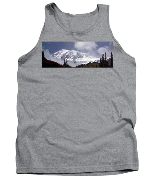 Tank Top featuring the photograph Mt Rainier  by Greg Reed