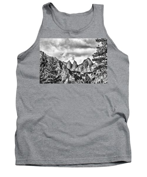 Tank Top featuring the photograph Mt. Whitney by Peggy Hughes