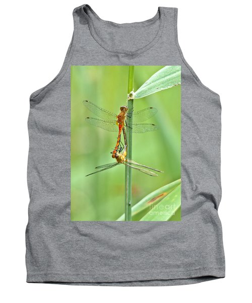 Multiplying Dragonflies Tank Top