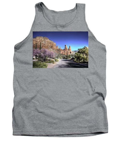 Tank Top featuring the photograph Mushroom Rock by Lynn Geoffroy