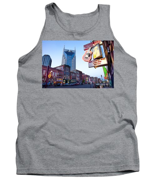 Music City Usa Tank Top by Brian Jannsen