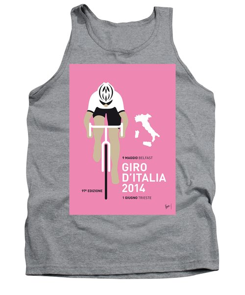 My Giro D Italia Minimal Poster 2014 Tank Top