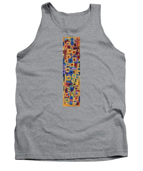 Tank Top featuring the painting My Jazz N Blues 1 by Holly Carmichael