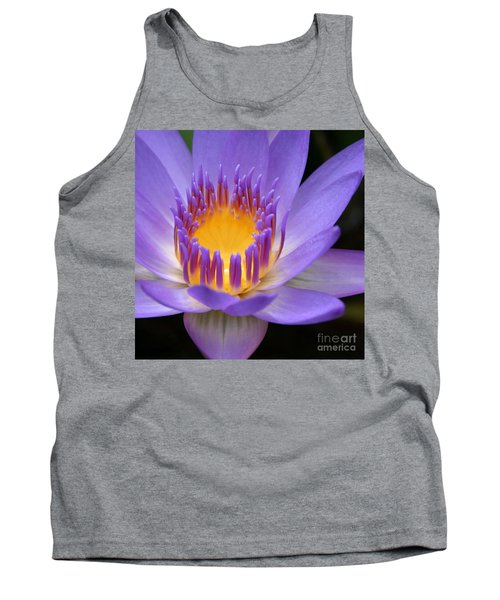 My Soul Dressed In Silence Tank Top by Sharon Mau