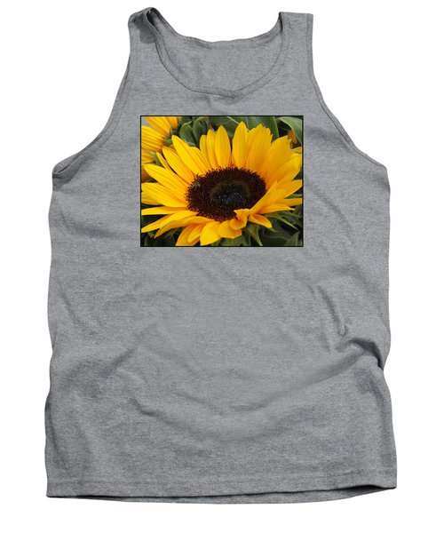 My Sunshine Tank Top by Dora Sofia Caputo Photographic Art and Design