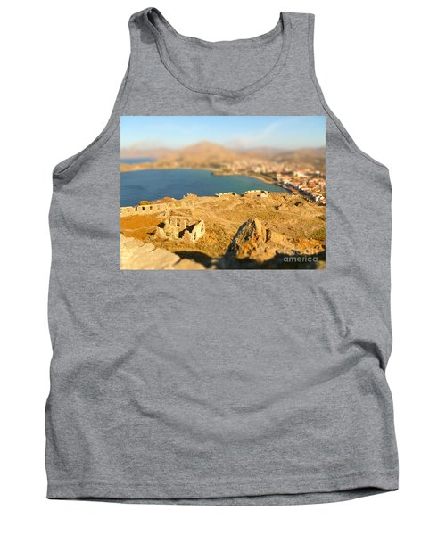 My Toy Castle Tank Top by Vicki Spindler