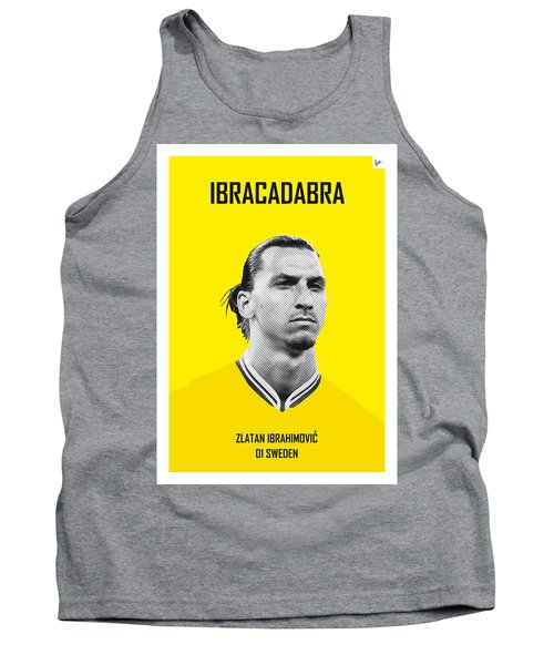 My Zlatan Soccer Legend Poster Tank Top