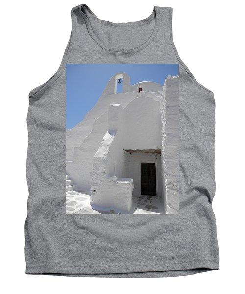 Mykonos Church Tank Top