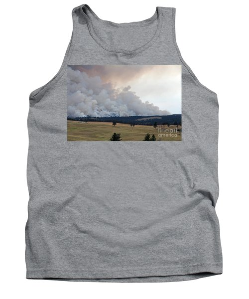 Tank Top featuring the photograph Myrtle Fire West Of Wind Cave National Park by Bill Gabbert