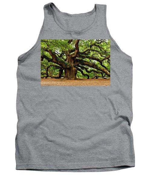 Mystical Angel Oak Tree Tank Top
