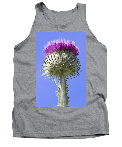 National Flower Of Scotland Tank Top