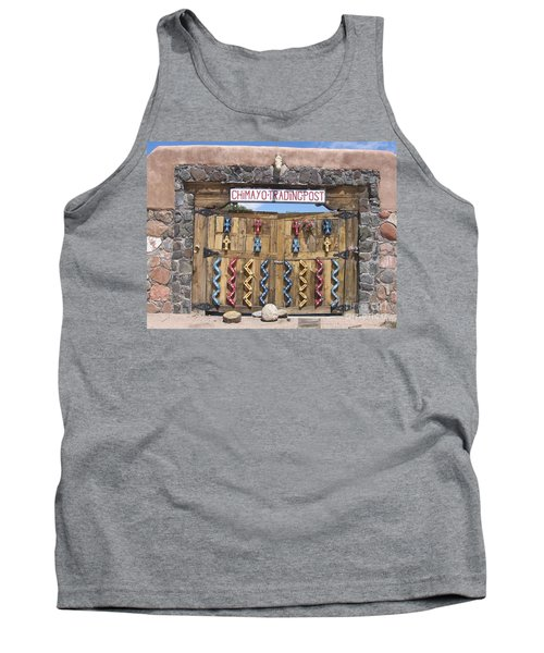 Tank Top featuring the photograph Native American Trading Post by Dora Sofia Caputo Photographic Art and Design