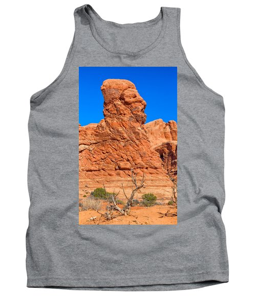 Tank Top featuring the photograph Natural Sculpture by John M Bailey