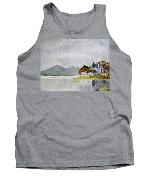 Nature's Painting Tank Top by Sonali Gangane