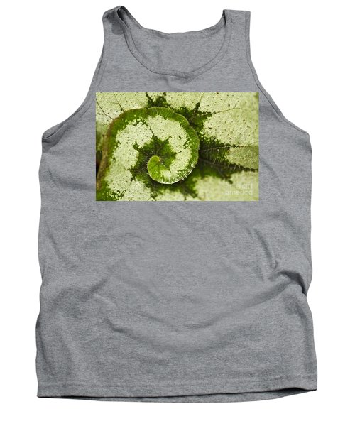 Tank Top featuring the photograph Natures Spiral by Heiko Koehrer-Wagner