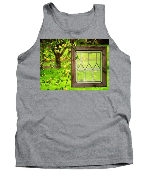 Tank Top featuring the photograph Nature's Window by Greg Simmons
