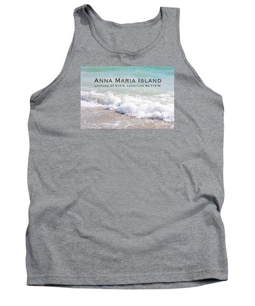 Nautical Escape To Anna Maria Island Tank Top