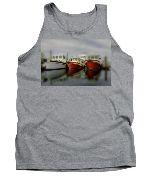 Tank Top featuring the photograph Nautical by Sonya Lang