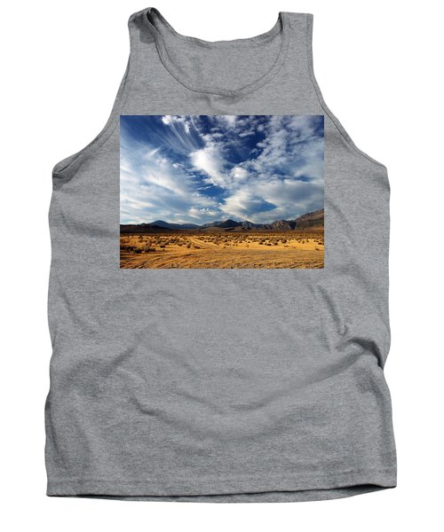 Near The Intersection Of God And The Eastern Sierras Tank Top by Joe Schofield