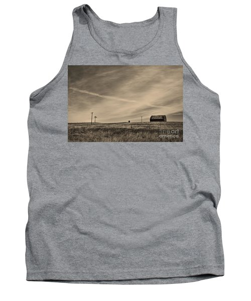 An Abandoned Nebraska Barn Tank Top