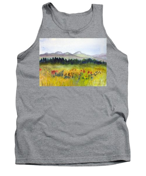 Nek Mountains And Meadows Tank Top by Donna Walsh