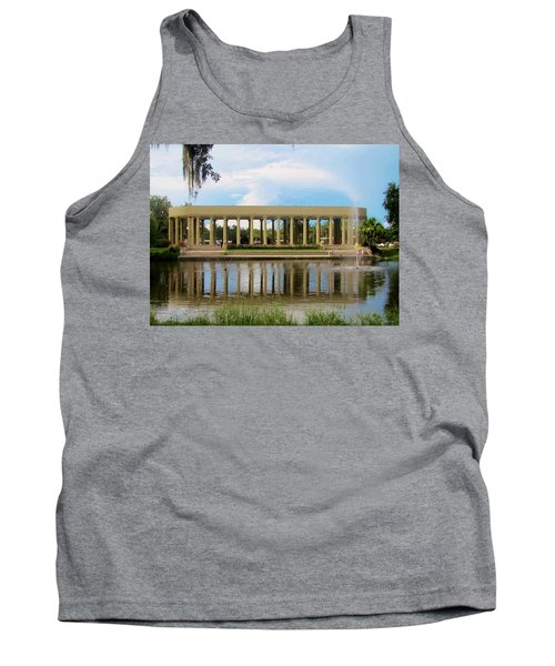 New Orleans City Park - Peristyle Tank Top by Deborah Lacoste