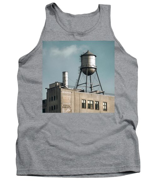 New York Water Towers 10 Tank Top