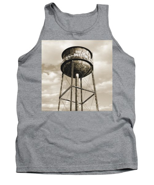 New York Water Towers 11 - Greenpoint Brooklyn Tank Top