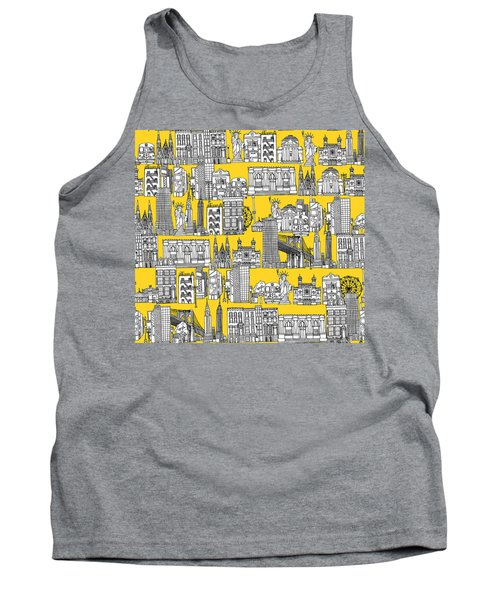New York Yellow Tank Top