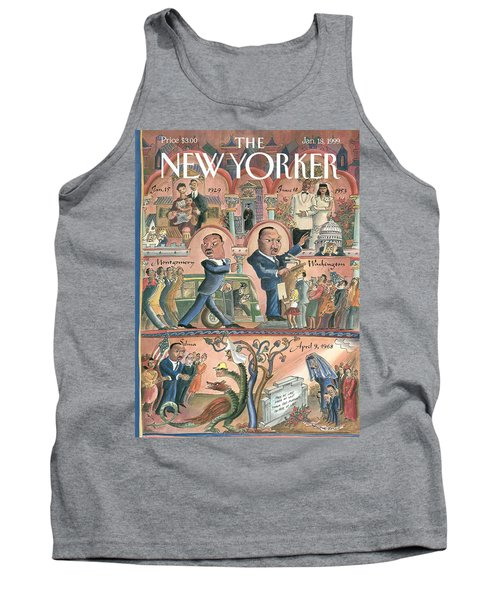 New Yorker January 18th, 1999 Tank Top
