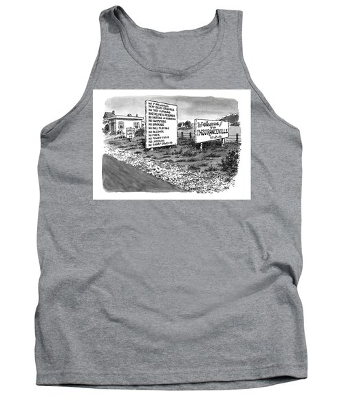 New Yorker January 25th, 1999 Tank Top
