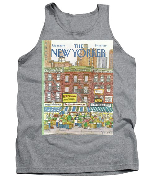 New Yorker July 18th, 1983 Tank Top