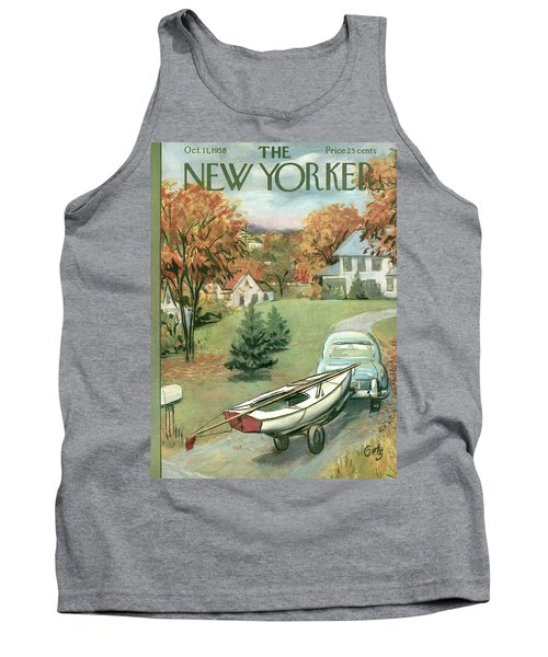 New Yorker October 11th, 1958 Tank Top