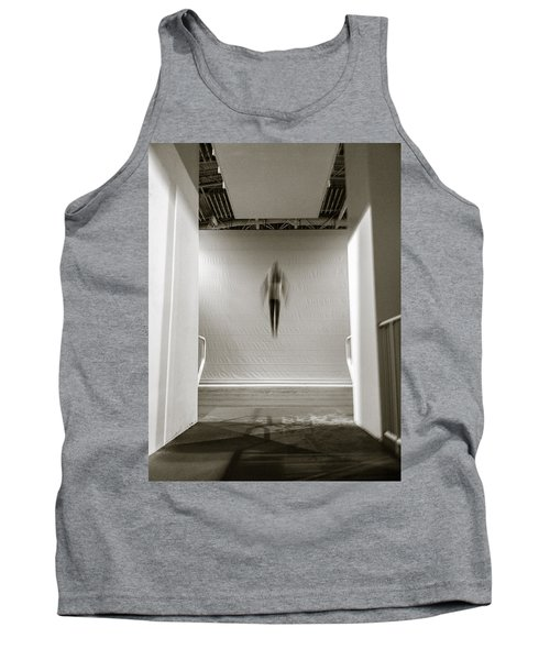 Tank Top featuring the photograph Newton's First Law by Alex Lapidus
