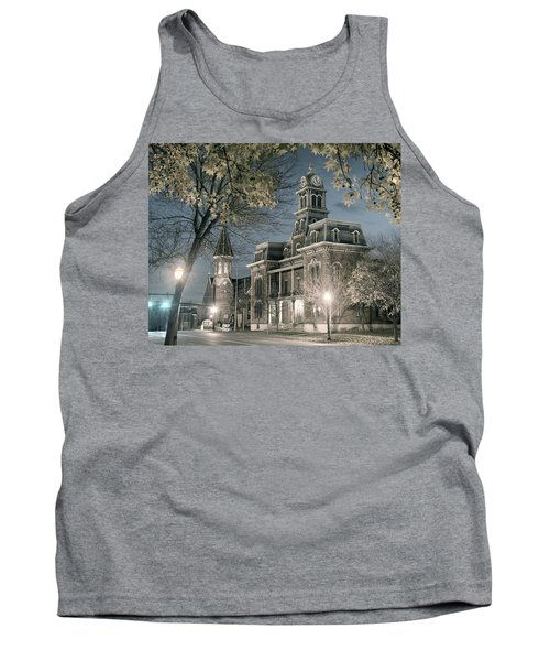 Night Court Tank Top by William Beuther
