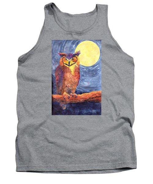 Night Owl Tank Top by Nancy Jolley
