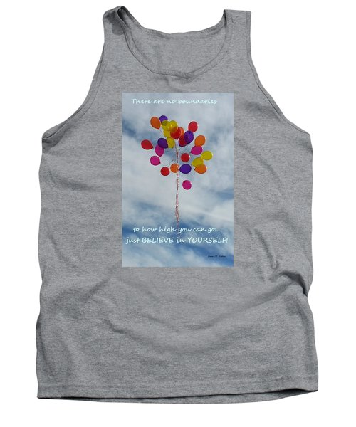 Tank Top featuring the photograph No Boundaries by Emmy Marie Vickers