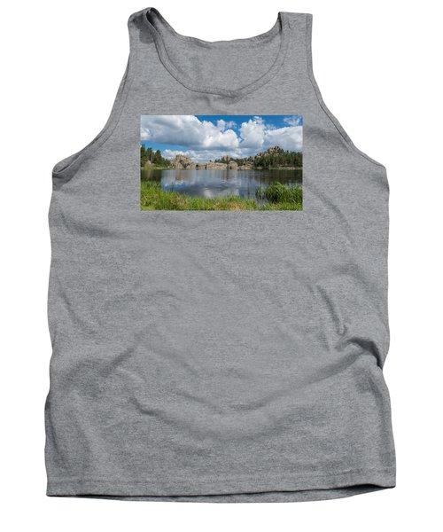 Sylvan Lake South Dakota Tank Top by Patti Deters