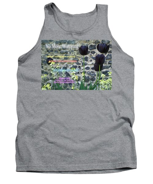 No More Worrying Tank Top