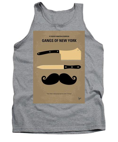 No195 My Gangs Of New York Minimal Movie Poster Tank Top