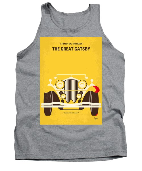 No206 My The Great Gatsby Minimal Movie Poster Tank Top