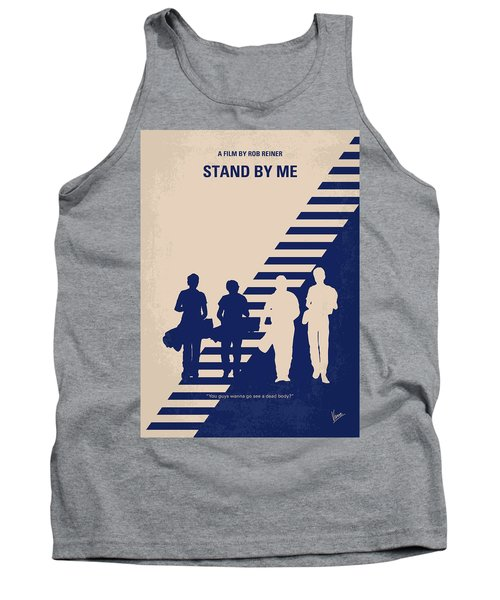 No429 My Stand By Me Minimal Movie Poster Tank Top