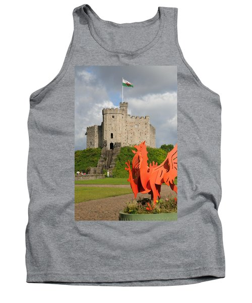 Norman Keep Cardiff Castle Tank Top