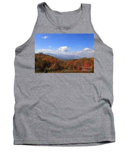 North Carolina Mountains In The Fall Tank Top